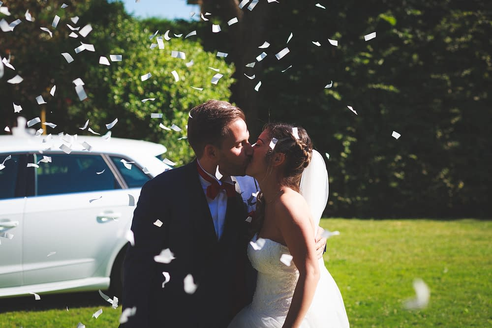 sparacoriandoli sposi