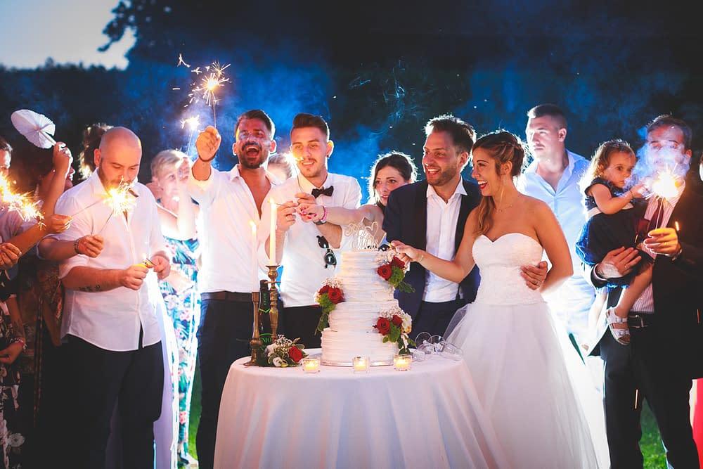 come allestire torta matrimonio