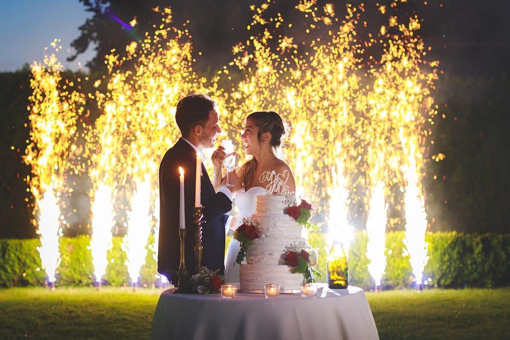 [Real Wedding] Un matrimonio USA tra rosso passione e risaie novaresi