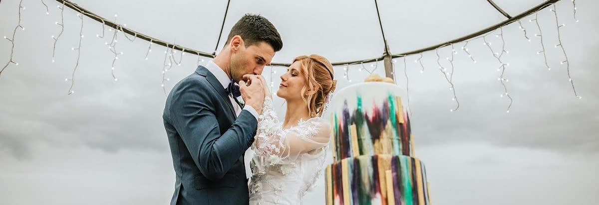[Inspiration shoot] Idee per un matrimonio ultraviolet dai dettagli vintage