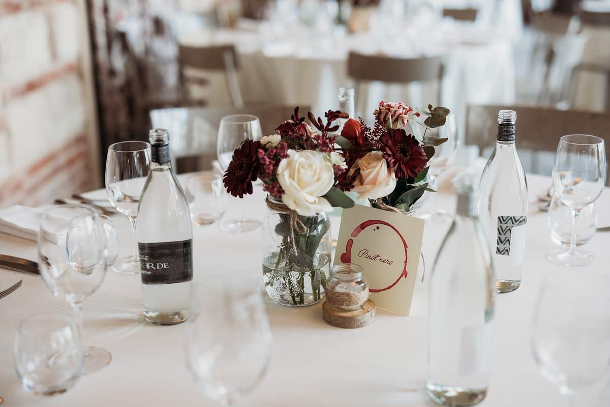 allestimenti matrimonio tema vino