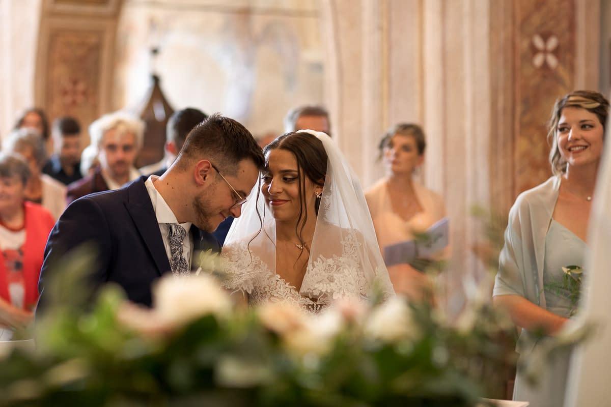 [Real Wedding] Un matrimonio svizzero e italiano per coronare l'amore di Didier e Laurie