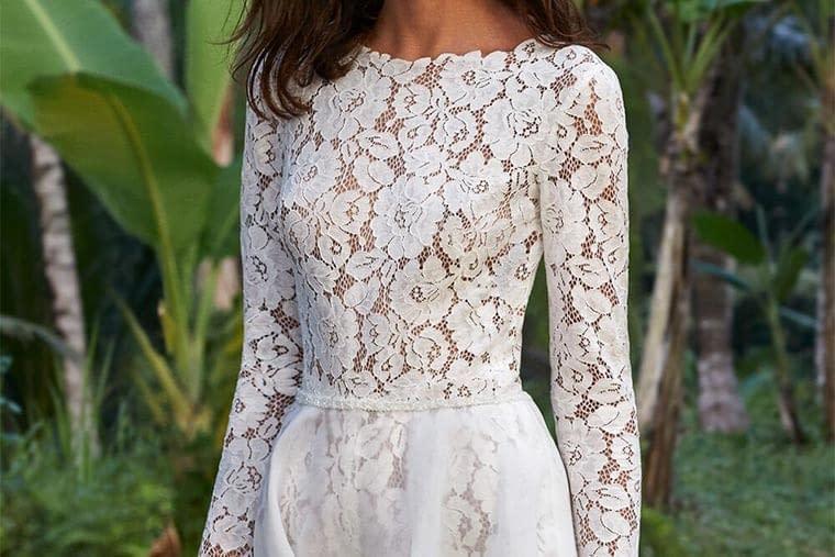 Vestito da sposa spezzato