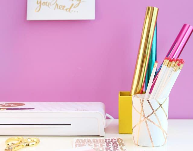 [Passione Casa] DIY: Come creare un semplice portamatite glamour